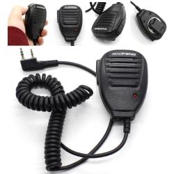 Walkie Talkie Handheld Speaker Hand microphone Baofeng