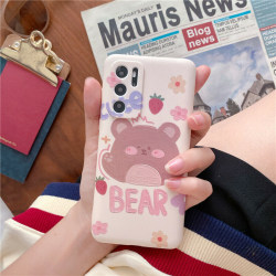 Söt tecknad djur mjuk telefonfodral till iPhone Bear,For iPhone X / XS