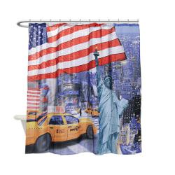 New York Flagg - Duschdraperi