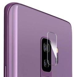 2-Pack Härdat Glas Samsung Galaxy S9+ Plus Linsskydd Kamera Transparent