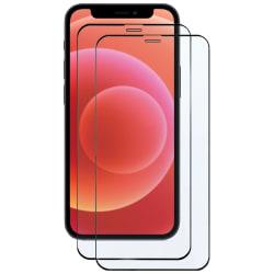 2-Pack iPhone 12 Mini Skärmskydd Full-Size Transparent