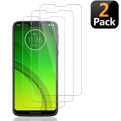[2-Pack] Skärmskydd Motorola Moto G7 Power Transparent