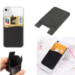 iPhone/Android korthållare, Baksida för din telefon (2-kort)