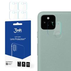 4-Pack 3MK FlexibleGlass Google Pixel 5 Linsskydd Kamera Transparent