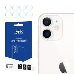 4-Pack 3MK FlexibleGlass iPhone 12 Linsskydd Kamera Transparent