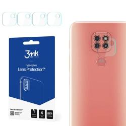 4-Pack 3MK FlexibleGlass Motorola Moto G9 Play Linsskydd Kamera Transparent