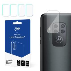 4-Pack 3MK FlexibleGlass Motorola One Zoom Linsskydd Kamera Transparent