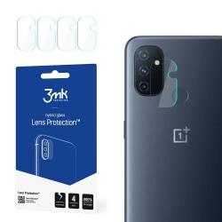 4-Pack 3MK FlexibleGlass OnePlus Nord N100 Linsskydd Kamera Transparent