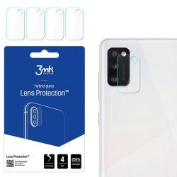 4-Pack 3MK FlexibleGlass Samsung Galaxy A41 Linsskydd Kamera Transparent