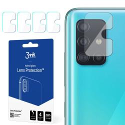 4-Pack 3MK FlexibleGlass Samsung Galaxy A51 Linsskydd Kamera Transparent