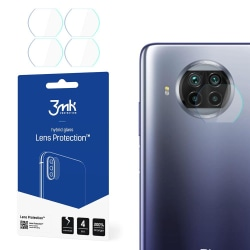 4-Pack 3MK FlexibleGlass Xiaomi Mi 10T Lite  Linsskydd Kamera Transparent