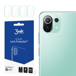 4-Pack 3MK FlexibleGlass Xiaomi Mi 11 Lite 5G Linsskydd Kamera Transparent