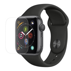Apple Watch 40mm Skärmskydd Heltäckande - Skydd Transparent