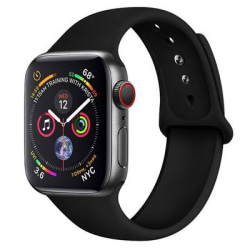 Armband Apple Watch 42/44mm Sportarmband - M/L Svart