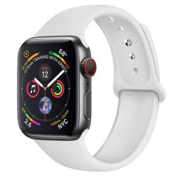 Armband Apple Watch 42/44mm Sportarmband - M/L Vit