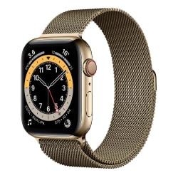 Armband Milanese Loop Apple Watch 42/44 mm - Dark Gold