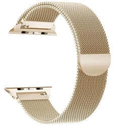 Armband Milanese Loop Apple Watch 42/44 mm -  Guld