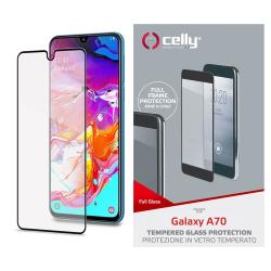 Celly™ Samsung Galaxy A70 Skärmskydd Heltäckande
