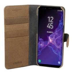 Champion™ Wallet Samsung Galaxy S9 - Äkta Läder - Brun