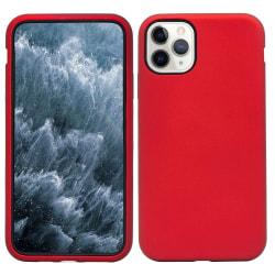 Defender Stöttåligt Skal till iPhone 11 Pro Max - Röd/Svart Brun