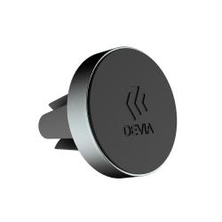 Devia® Bilhållare magnetisk inkl. metallplatta - Space Grey Svart