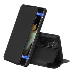 Dux Ducis Skin X Fodral Läder Samsung Galaxy S21 Ultra - Svart Svart