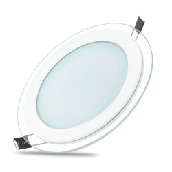 Forever Rund LED Panel Lampa 18W (4500k) Neutral Vit