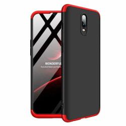 GKK Full Body Skal till OnePlus 6T - Svart/Röd Svart