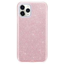 Glitter Skal för iPhone 11 - Roséguld Rosa