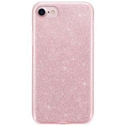 Glitter Skal för iPhone SE 2020/8/7 - Roséguld Rosa guld