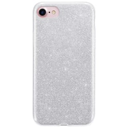 Glitter Skal för iPhone SE 2020/8/7 - Silver Silver