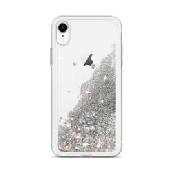 Glitterskal för iPhone XS Max  - Silver Silver