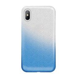 Gradient Glitter 3i1 Skal för Huawei P Smart Z - Blå Blå
