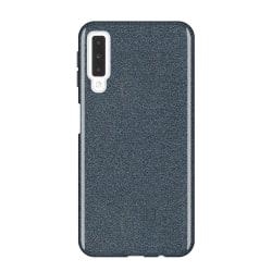 Gradient Glitter 3i1 Skal för Samsung Galaxy S10E - Svart Svart