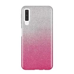 Gradient Glitter 3i1 Skal Huawei P Smart Z - Rosa Rosa