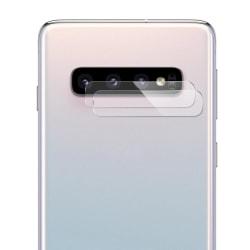 Härdat Glas Samsung Galaxy S10 Linsskydd Kamera Transparent