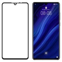 Huawei P30 Heltäckande Härdat Glas Transparent
