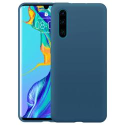 Huawei P30 Lite Silicone Case - Blågrå Silikonskal Grön