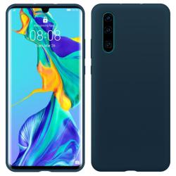 Huawei P30 Lite Silicone Case - Mörkblå Silikonskal Blå
