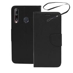 Huawei P40 Lite E Fodral Plånboksfodral Svart