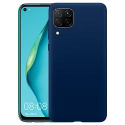 Huawei P40 Lite Silicone Case - Navy Blå Silikonskal Blå