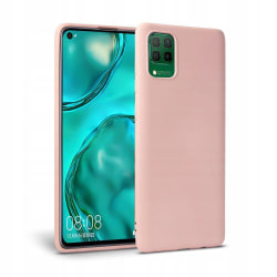 Huawei P40 Lite Silicone Case - Rosa Silikonskal Rosa