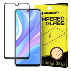 Huawei P40 Lite Skärmskydd Heltäckande Härdat Glas Transparent
