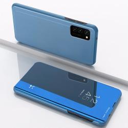 Huawei P40 Lite Smart View Fodral - Blå Blå