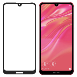 Huawei Y5 2019 Härdat Glas CURVED [Full-Cover] Transparent