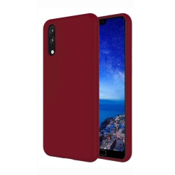 Huawei Y5 2019 Skal Burgundy Silikonskal Röd