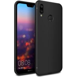 Huawei Y5 2019 Skal Svart Silikonskal Svart