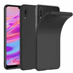 Huawei Y7 2019 Skal Black Matte TPU Svart