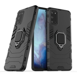 Hybrid Skal med Ringhållare Samsung Galaxy S20 Plus Svart