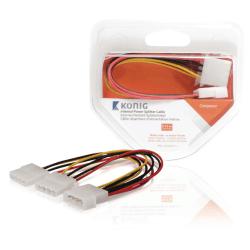 Intern strömkabel Molex - Splitter